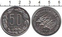 Изображение Монеты Африка Центральная Африка 50 франков 1961 Медно-никель XF