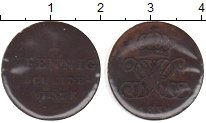 Изображение Монеты Ганновер 1 пфенниг 1831 Медь