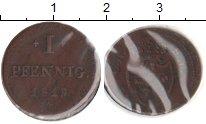 Изображение Монеты Гессен-Дармштадт 1 пфенниг 1819 Медь