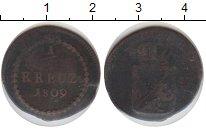 Изображение Монеты Баден 1/2 крейцера 1809 Медь VF