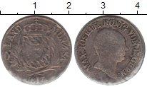 Изображение Монеты Бавария 6 крейцеров 1817 Серебро