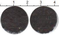 Изображение Монеты Брауншвайг-Вольфенбюттель 1 пфенниг 1797 Медь VF