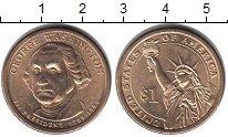 Изображение Мелочь Северная Америка США 1 доллар 2007 Медно-никель UNC-