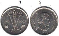 Изображение Мелочь Канада 5 центов 2005 Медно-никель UNC