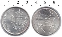 Изображение Монеты Сан-Марино 1000 лир 1981 Серебро UNC