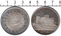 Изображение Монеты Европа Мальта 4 фунта 1975 Серебро UNC-