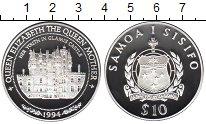 Изображение Монеты Самоа 10 тала 1994 Серебро Proof
