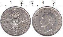 Изображение Мелочь Великобритания 2 шиллинга 0 Серебро UNC- 1937-1945гг.