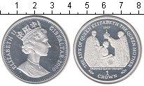 Изображение Монеты Гибралтар 1 крона 2000 Серебро Proof-