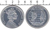Изображение Монеты Гибралтар 5 фунтов 2008 Серебро Proof- Никто не забыт