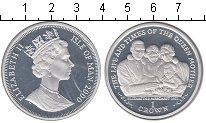 Изображение Монеты Великобритания Остров Мэн 1 крона 2000 Серебро Proof-