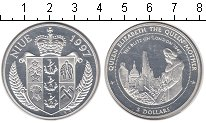 Изображение Монеты Ниуэ 5 долларов 1997 Серебро Proof-