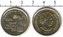 Изображение Мелочь Канада 1 доллар 2012  UNC- Елизавета II 100th c