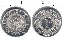 Изображение Мелочь Антильские острова 1 цент 2003 Алюминий UNC-
