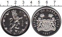 Изображение Мелочь Сьерра-Леоне 1 доллар 1997 Медно-никель UNC