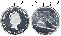 Изображение Монеты Австралия и Океания Тувалу 1 доллар 2010 Серебро Proof