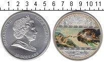 Изображение Монеты Острова Кука 20 долларов 2009 Серебро Proof Елизавета II