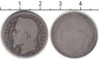 Изображение Монеты Европа Франция 1 франк 1866 Серебро VF