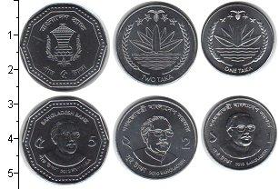 Изображение Наборы монет Бангладеш Бангладеш 2010-2012 0 Медно-никель UNC-
