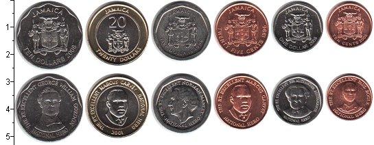 Изображение Наборы монет Северная Америка Ямайка Ямайка 1996-2008 0  UNC-