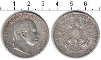 Изображение Монеты Пруссия 1 талер 1866 Серебро VF