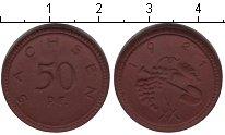 Изображение Монеты Германия Саксония 50 пфеннигов 1921 Керамика XF