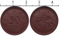 Изображение Монеты Саксония 50 пфеннигов 1921 Керамика XF нотгельд