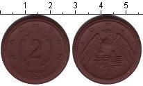 Изображение Монеты Германия Саксония 2 марки 1921 Керамика XF