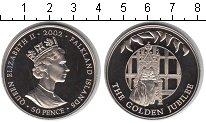 Изображение Мелочь Фолклендские острова 50 пенсов 2002 Медно-никель UNC