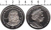 Изображение Мелочь Виргинские острова 1 доллар 2006 Медно-никель UNC