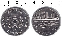 Изображение Мелочь Азия Сингапур 5 долларов 1982 Медно-никель UNC-