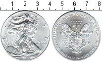 Изображение Мелочь США 1 доллар 2014 Серебро UNC-