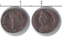 Изображение Монеты Великобритания 1 пенни 1752 Серебро