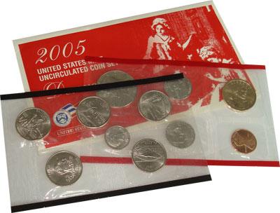 Изображение Подарочные монеты Северная Америка США США 2005 2005  UNC-