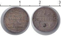 Изображение Монеты Германия Гамбург 1 дрейлинг 1855 Серебро XF