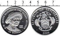 Изображение Монеты Сейшелы 25 рупий 2000 Серебро Proof- Елизавета II. Короле