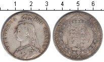 Изображение Монеты Европа Великобритания 1/2 кроны 1887 Серебро VF