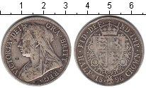 Изображение Монеты Великобритания 1/2 кроны 1896 Серебро VF