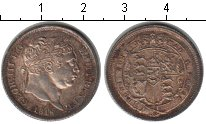 Изображение Монеты Европа Великобритания 1 шиллинг 1816 Серебро XF