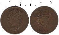 Изображение Монеты Ирландия 1/2 пенни 1820  VF