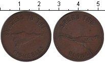 Изображение Монеты Великобритания 1/2 пенни 0 Медь VF