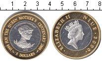 Изображение Монеты Ниуэ 5 долларов 2000 Серебро Proof- Елизавета II. Утверж