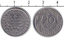Изображение Мелочь Польша 20 грош 1923 Медно-никель XF