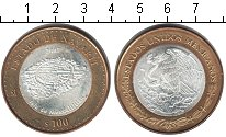Изображение Мелочь Северная Америка Мексика 100 песо 2007 Биметалл UNC-