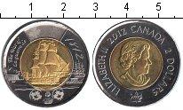 Изображение Мелочь Канада 2 доллара 2012 Биметалл UNC-
