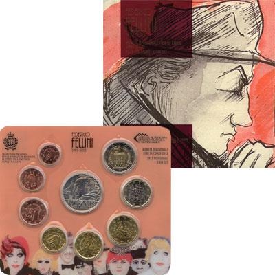 Изображение Подарочные монеты Европа Сан-Марино Евронабор 2013 года 2013