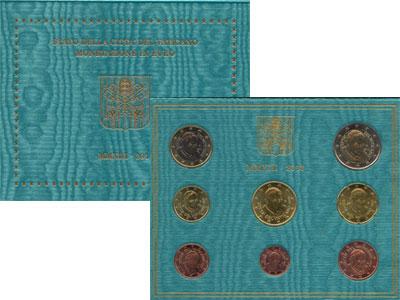 Изображение Подарочные монеты Европа Ватикан Евронабор 2013 2013  UNC