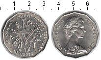 Изображение Мелочь Австралия 50 центов 1982 Медно-никель XF Елизавета II. XII иг