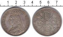 Изображение Монеты Европа Великобритания 1 флорин 1887 Серебро XF