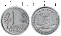 Изображение Мелочь ГДР 1 марка 1956 Алюминий XF A